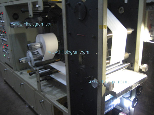 hologram lamination machine